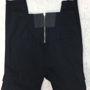 bebe Pants - Bebe Black Cargo High Waist Leggings Size M